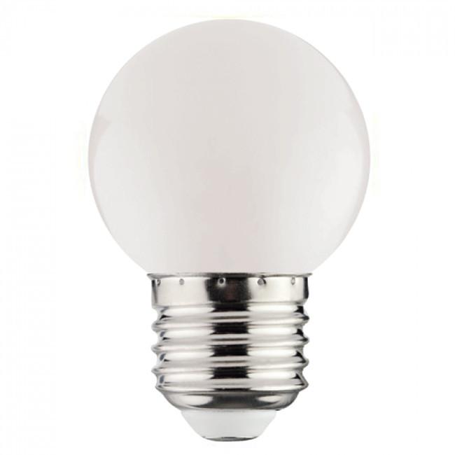 LED Lamp - Romba - Wit Gekleurd - E27 Fitting - 1W