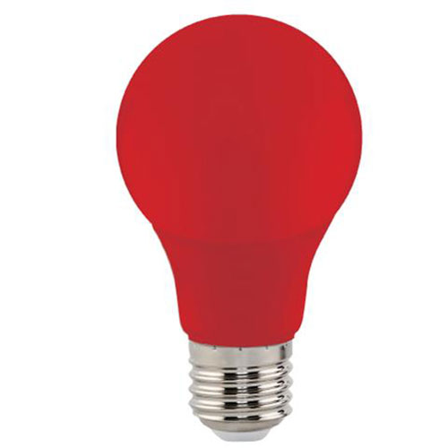 LED Lamp - Specta - Rood Gekleurd - E27 Fitting - 3W