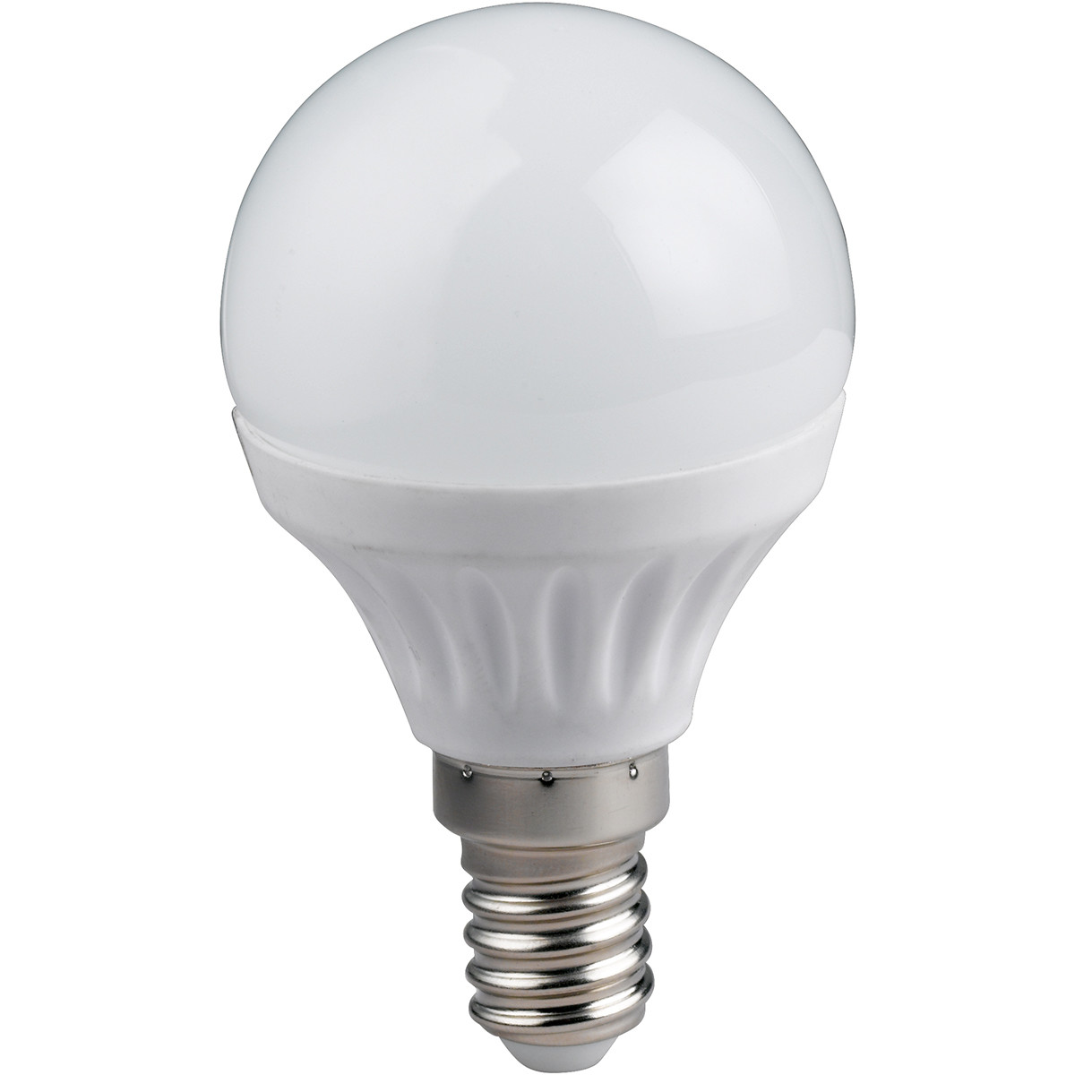 LED Lamp WiZ - Smart LED - Trion Akusti Bulb - E14 Fitting - 5W - Slimme LED - Dimbaar - Mat Wit - Kunststof