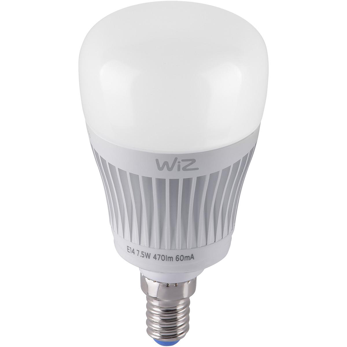 LED Lamp WiZ - Smart LED - Trion Akusti - E14 Fitting - 7W - Slimme LED - Dimbaa