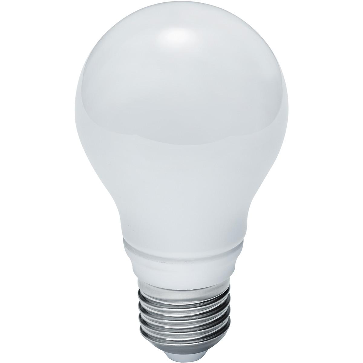 LED Lamp WiZ - Smart LED - Trion Akusti - E27 Fitting - 8W - Slimme LED - Dimbaar - Mat Wit - Kunsts