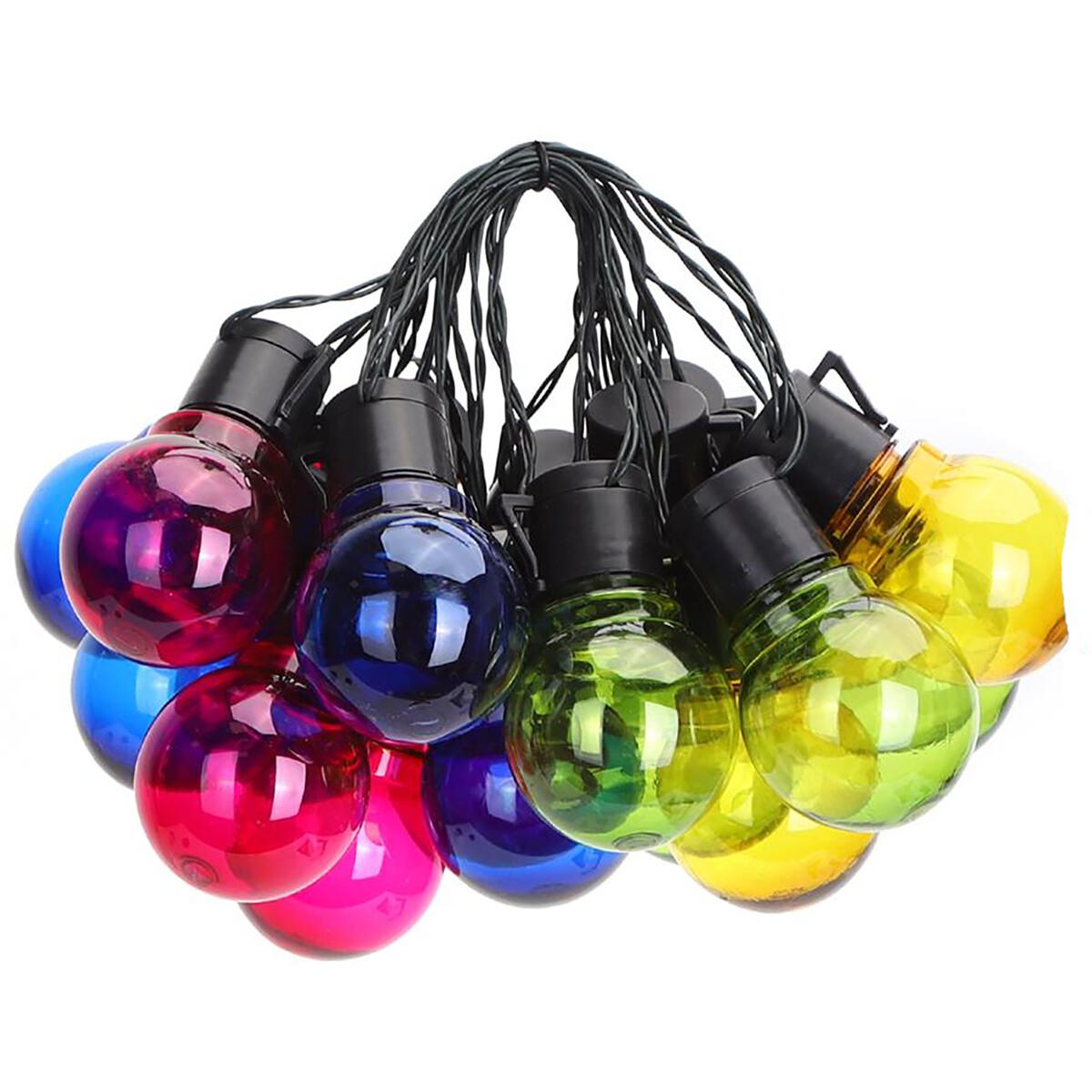 LED Lichtsnoer met Zonne-energie - Dag en Nacht Sensor - Aigi Ligo - 20W - 5.8 Meter - 20 LED's Meer