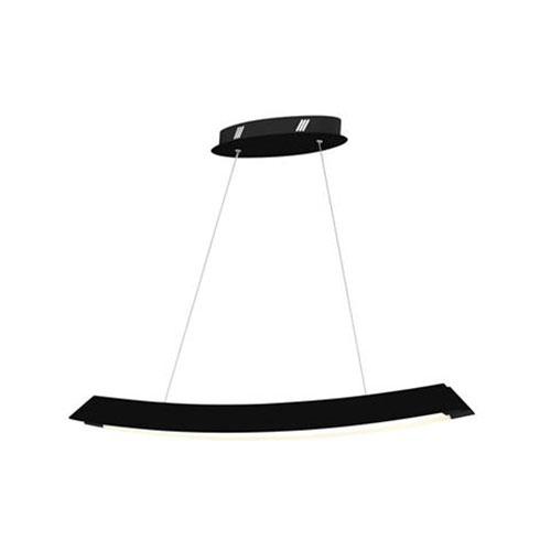 LED Plafondlamp - Plafondverlichting - Casto - 35W - Natuurlijk Wit 4000K - Zwart Aluminium