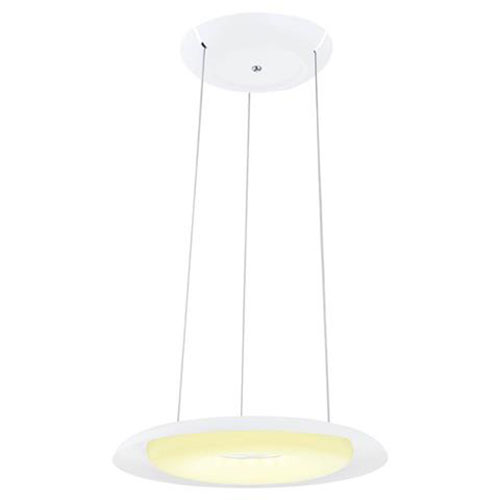 LED Plafondlamp - Plafondverlichting - Elegant - 70W - Natuurlijk Wit 4000K - Wit Aluminium