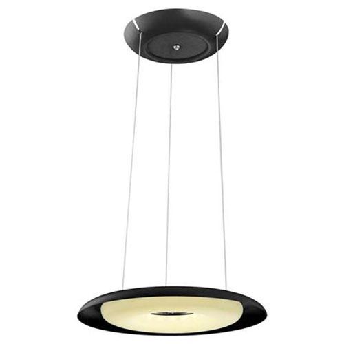 LED Plafondlamp - Plafondverlichting - Elegant - 35W - Natuurlijk Wit 4000K - Zwart Aluminium