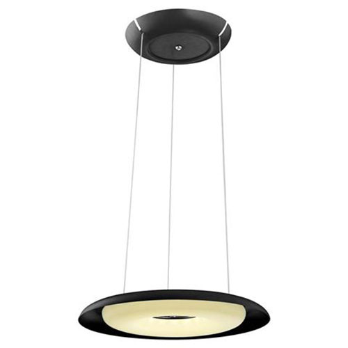LED Plafondlamp - Plafondverlichting - Elegant - 70W - Natuurlijk Wit 4000K - Zwart Aluminium