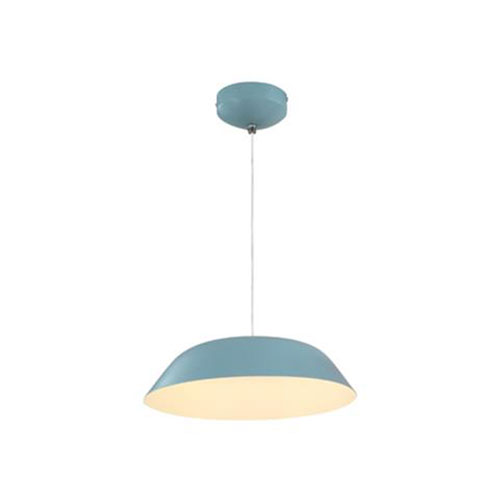 LED Plafondlamp - Plafondverlichting - Primo - 6W - Natuurlijk Wit 4000K - Blauw Aluminium