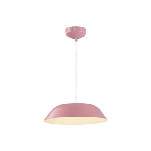 LED Plafondlamp - Plafondverlichting - Primo - 6W - Natuurlijk Wit 4000K - Roze Aluminium