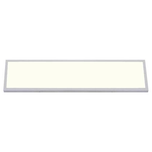 LED Paneel - 30x120 Natuurlijk Wit 4200K - 36W Opbouw Rechthoek - Mat Wit - Flik