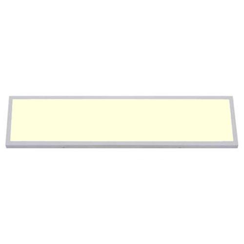 LED Paneel - 30x120 Warm Wit 3000K - 36W Opbouw Rechthoek - Mat Wit - Flikkervri