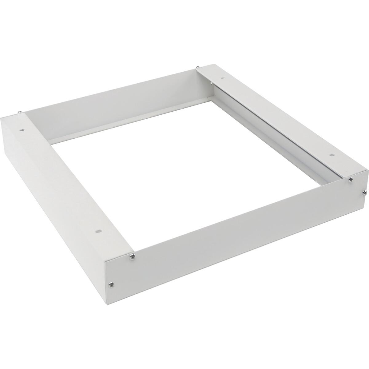 LED Paneel 30x30 - Aigi - Opbouw Frame - Aluminium - Wit