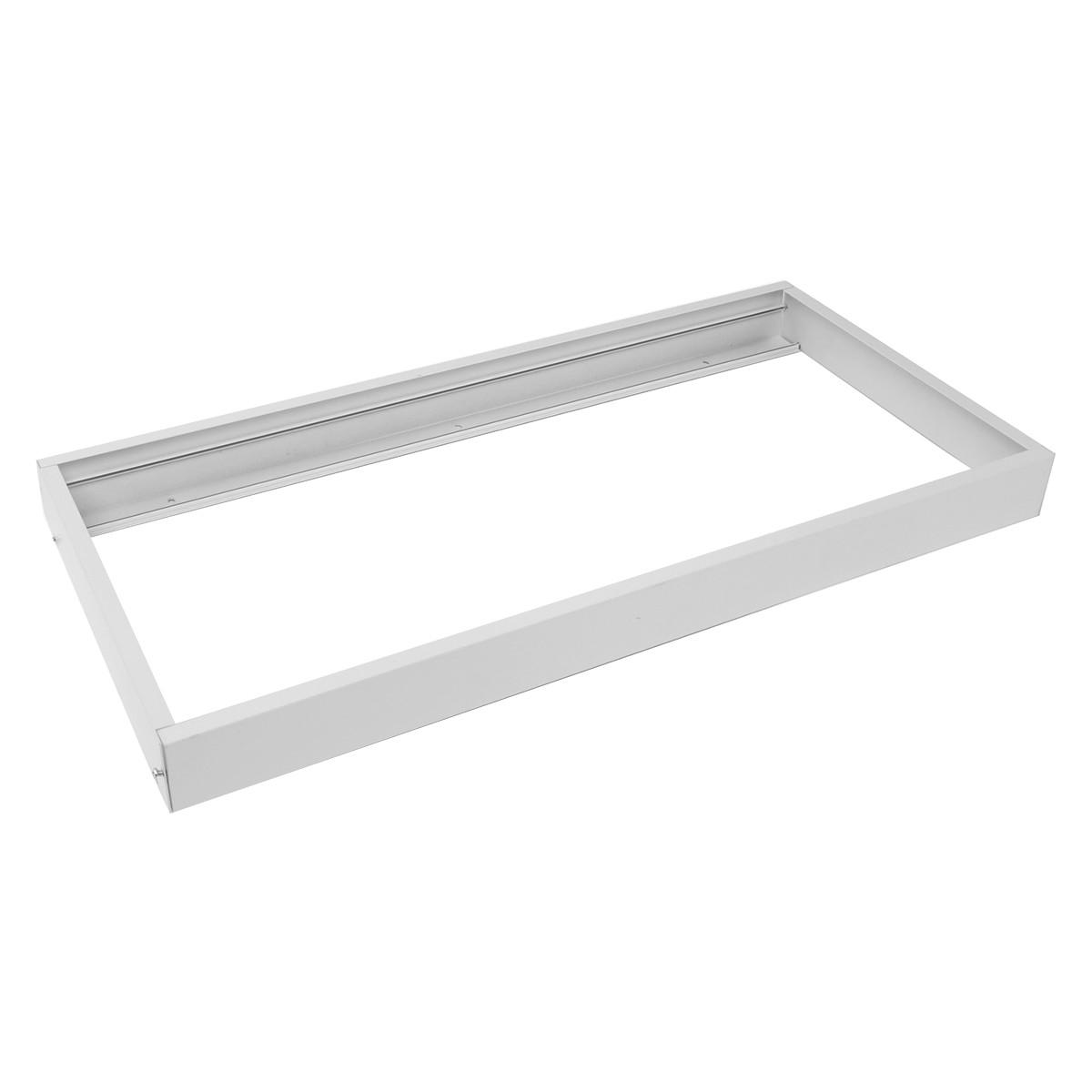LED Paneel 30x60 - Aigi - Opbouw Frame - Aluminium - Wit