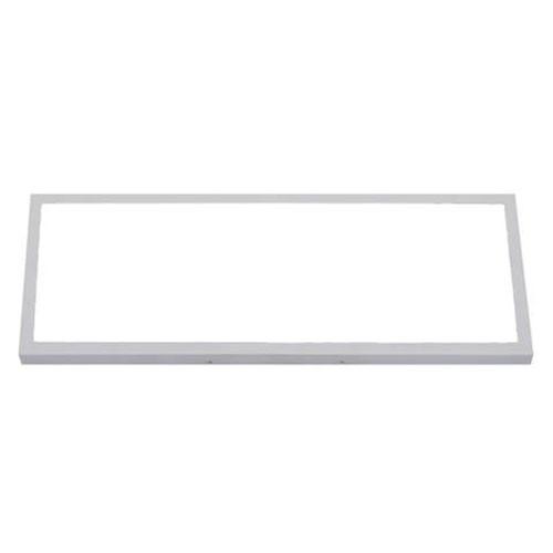 LED Paneel - 30x60 Helder/Koud Wit 6400K - 24W Opbouw Rechthoek - Mat Wit - Flik