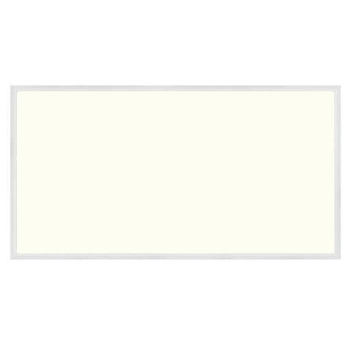 LED Paneel - 30x60 Natuurlijk Wit 4200K - 24W Inbouw Rechthoek - Mat Wit Aluminium