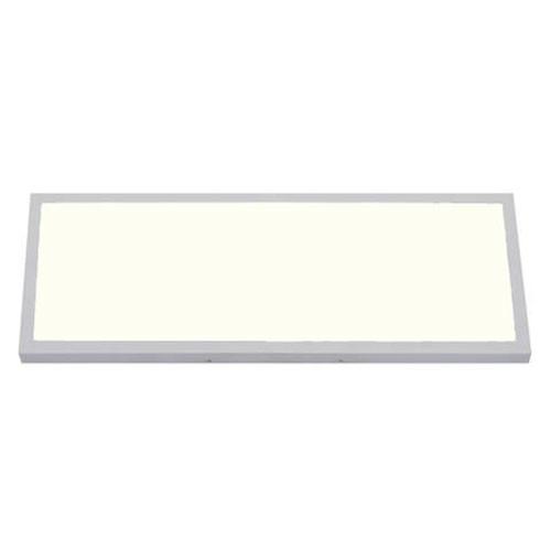 LED Paneel - 30x60 Natuurlijk Wit 4200K - 24W Opbouw Rechthoek - Mat Wit - Flikk