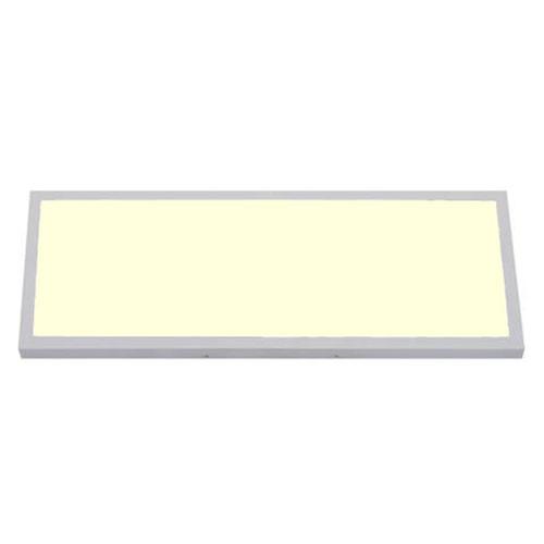 LED Paneel - 30x60 Warm Wit 3000K - 24W Opbouw Rechthoek - Mat Wit - Flikkervrij