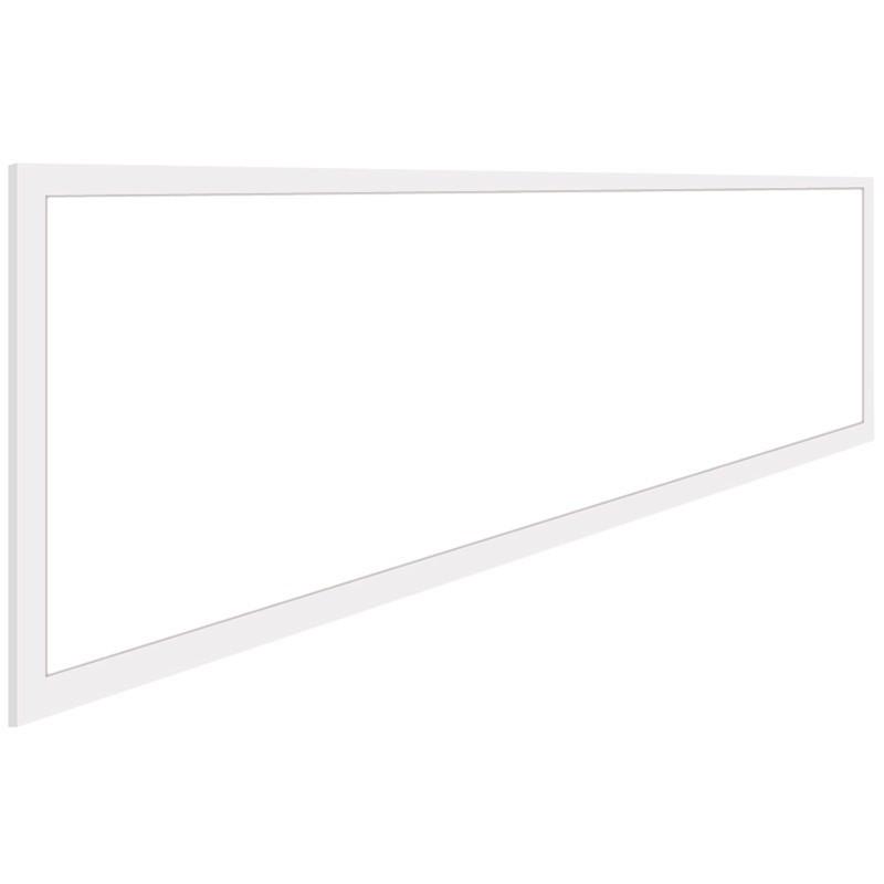 LED Paneel - Aigi - 30x120 Helder/Koud Wit 6000K - 40W Inbouw Rechthoek - Inclusief Stekker - Mat Wi
