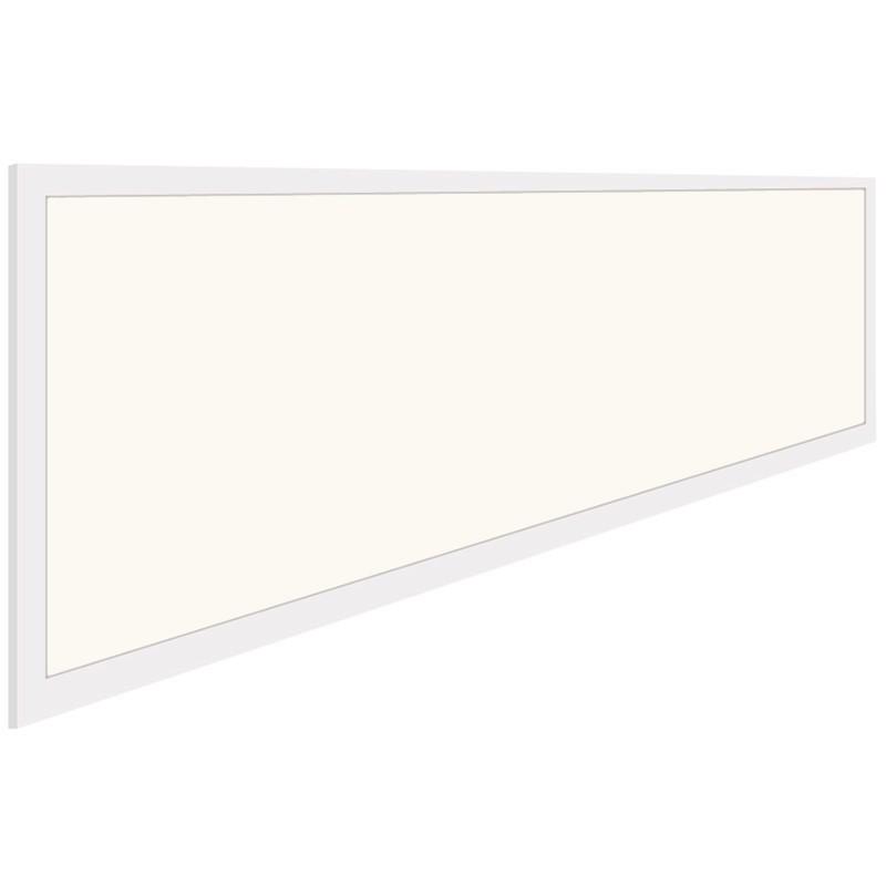 LED Paneel - Aigi - 30x120 Natuurlijk Wit 4000K - 40W Inbouw Rechthoek - Inclusief Stekker - Mat Wit