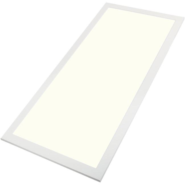 LED Paneel - Aigi - 60x120 Natuurlijk Wit 4000K - 60W Inbouw Rechthoek - Mat Wit - Flikkervrij