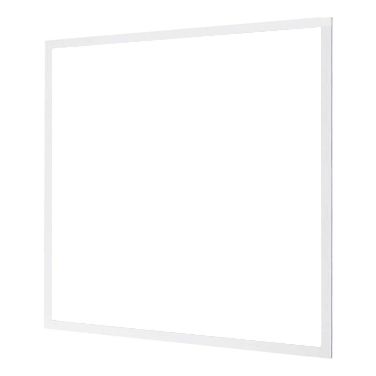 LED Paneel - Aigi - 60x60 Helder/Koud Wit 6000K - 40W Inbouw Vierkant - Inclusief Stekker - Mat Wit - Flikkervrij