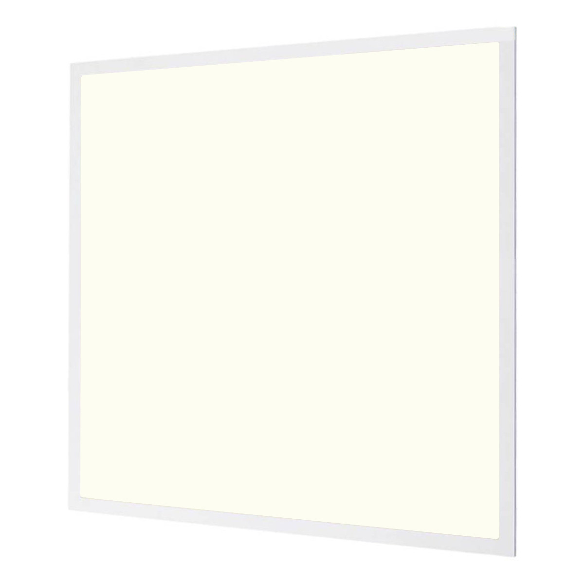 LED Paneel - Aigi - 60x60 Natuurlijk Wit 4000K - 32W High Lumen - Inbouw Vierkant - Mat Wit - Flikke