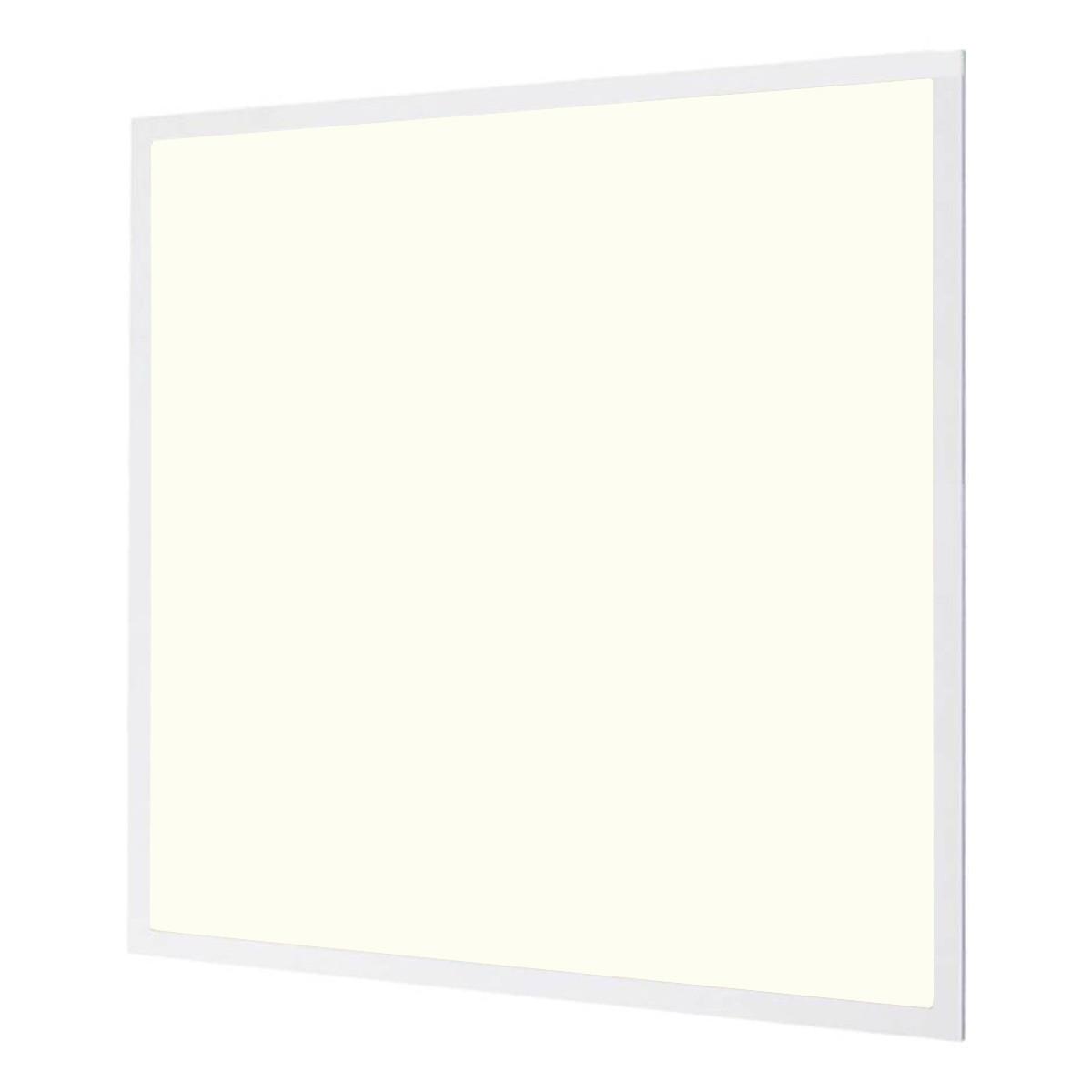 LED Paneel - Aigi - 60x60 Natuurlijk Wit 4000K - 40W Inbouw Vierkant - Inclusief Stekker - Mat Wit - Flikkervrij