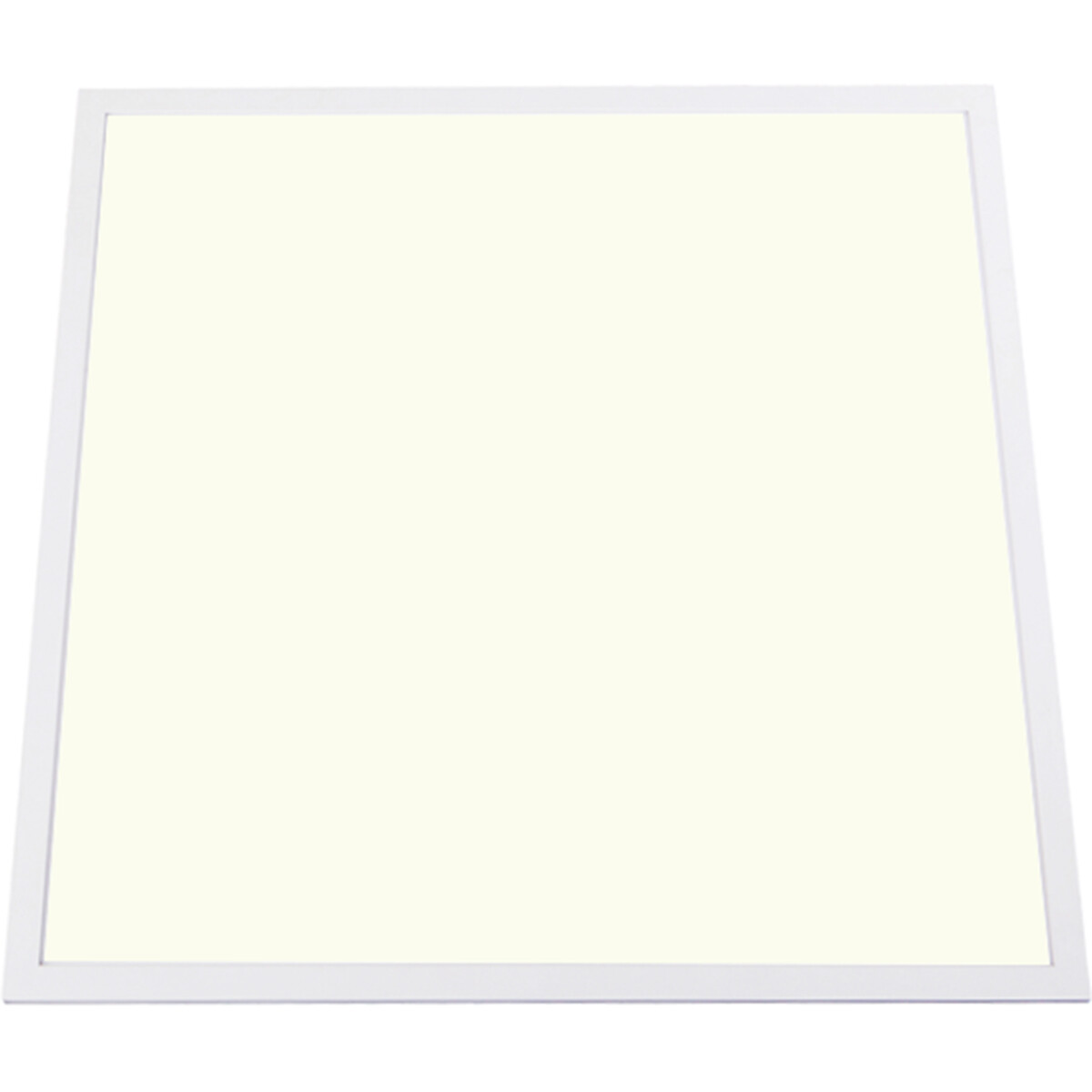 LED Paneel - Aigi - 60x60 Natuurlijk Wit 4000K - 50W Inbouw Vierkant - Mat Wit - Aluminium - Flikkervrij