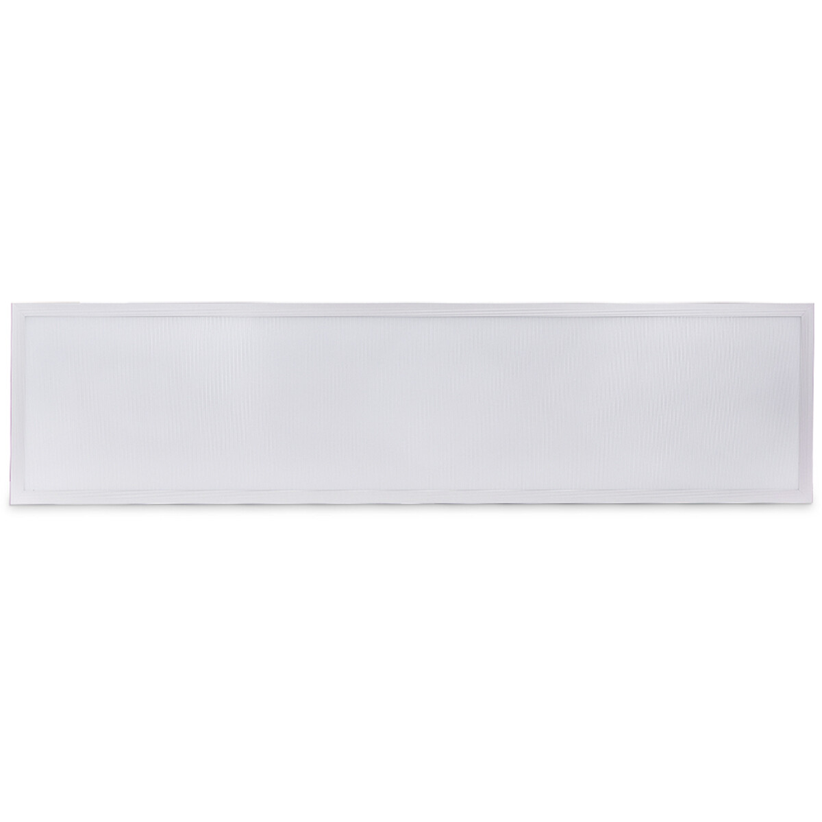LED Paneel - Aigi Hyron - 30x120 - Aanpasbare Kleur CCT - 32W - Inbouw - Vierkant - Mat Wit - Aluminium - Flikkervrij
