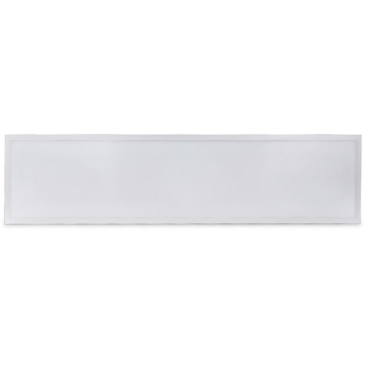 LED Paneel - Aigi Hyron - 30x120 - Aanpasbare Kleur CCT - 32W UGR19 - Inbouw - Vierkant - Mat Wit -