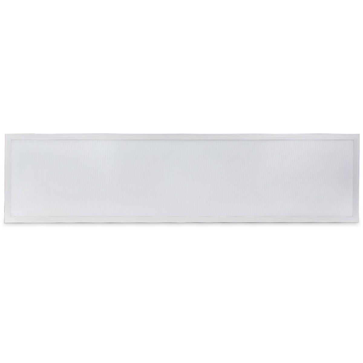 LED Paneel - Aigi Hyron - 30x120 - Aanpasbare Kleur CCT - 40W - Inbouw - Vierkant - Mat Wit - Alumin