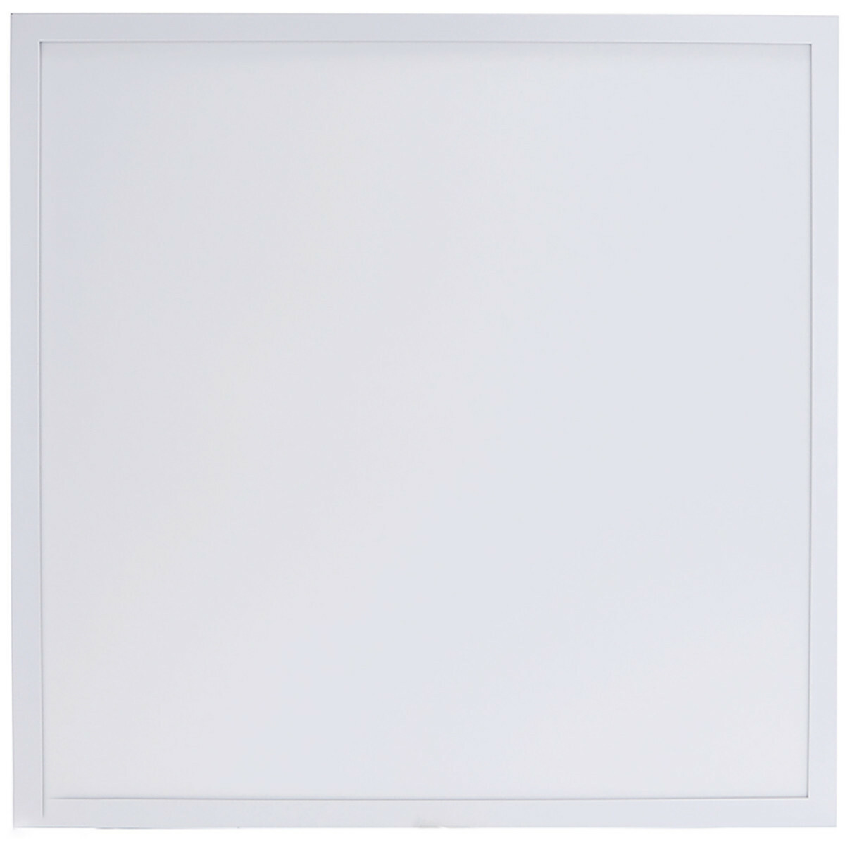 LED Paneel - Aigi Hyron - 62x62 - Aanpasbare Kleur CCT - 40W - Inbouw - Vierkant - Mat Wit - Alumini