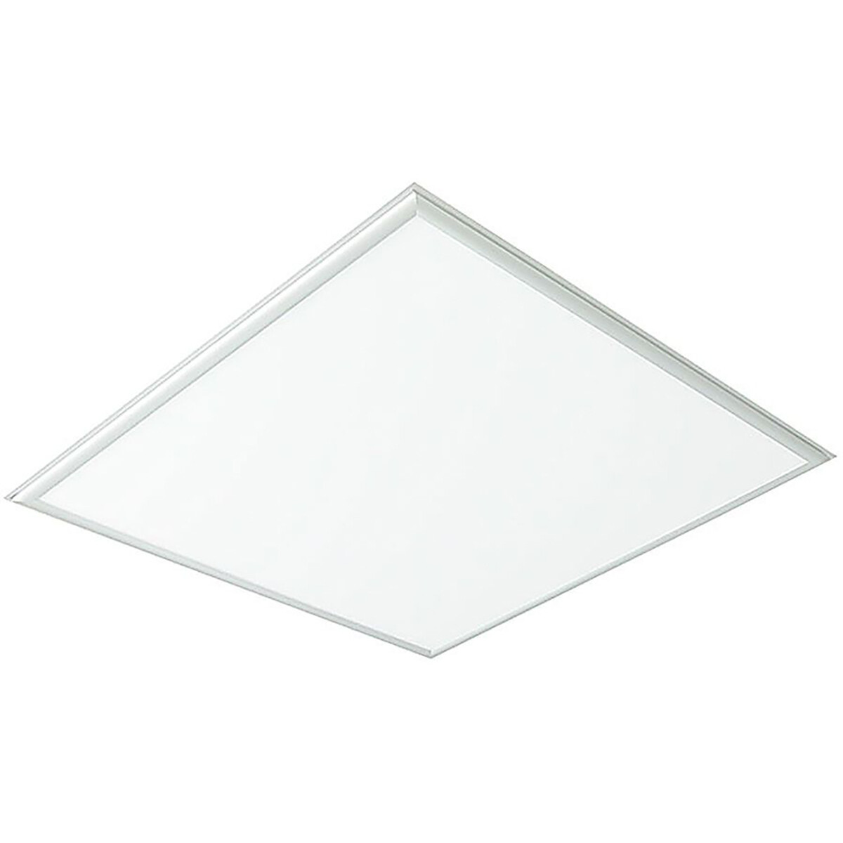 LED Paneel - Viron Viska - 60x60 Helder/Koud Wit 6400K - 36W Inbouw Vierkant - Mat Wit - Aluminium