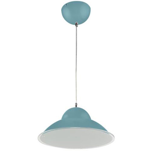 LED Plafondlamp - Plafondverlichting - Anta - 15W - Natuurlijk Wit 4000K - Blauw Aluminium