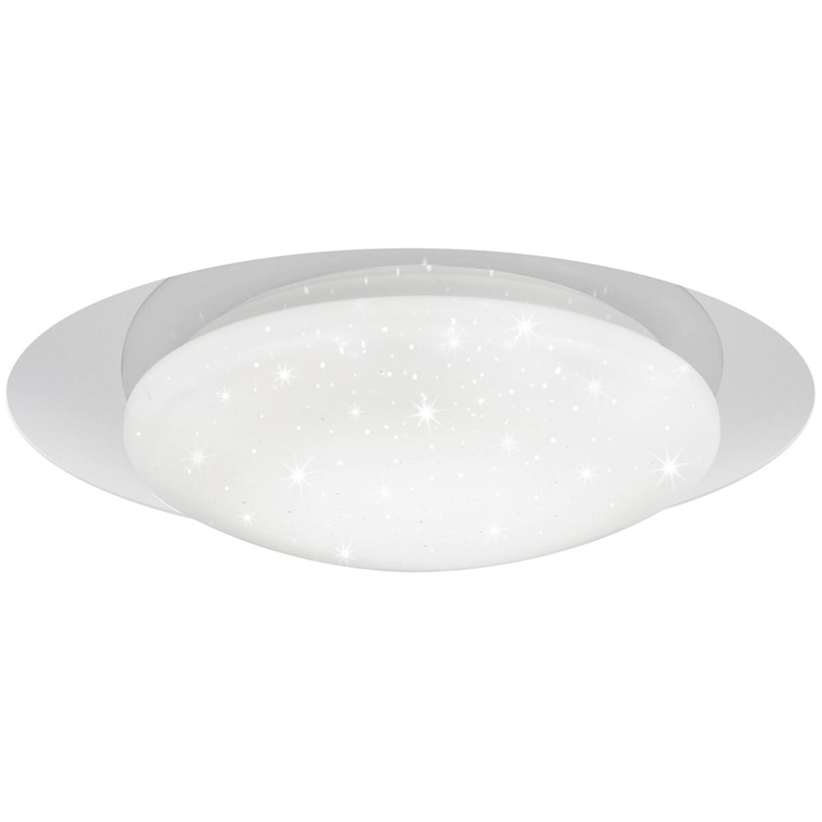 LED Plafondlamp - Plafondverlichting - Trion Frida - 13W - Aanpasbare Kleur - Dimbaar - Rond - Mat W