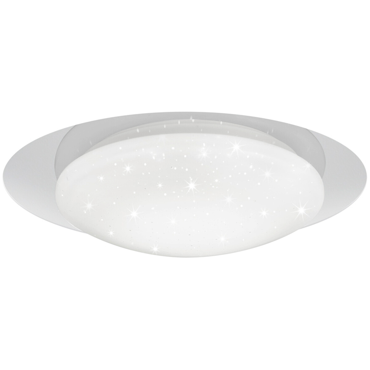 LED Plafondlamp - Plafondverlichting - Trion Frida - 26W - Aanpasbare Kleur - Dimbaar - Rond - Mat W