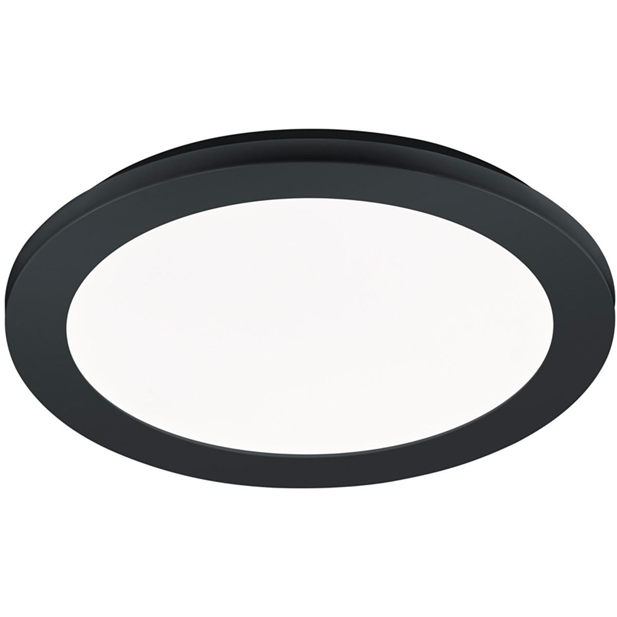 LED Plafondlamp - Trion Camy - Opbouw Rond 15W - Spatwaterdicht IP44 - Dimbaar - Warm Wit 3000K - Ma