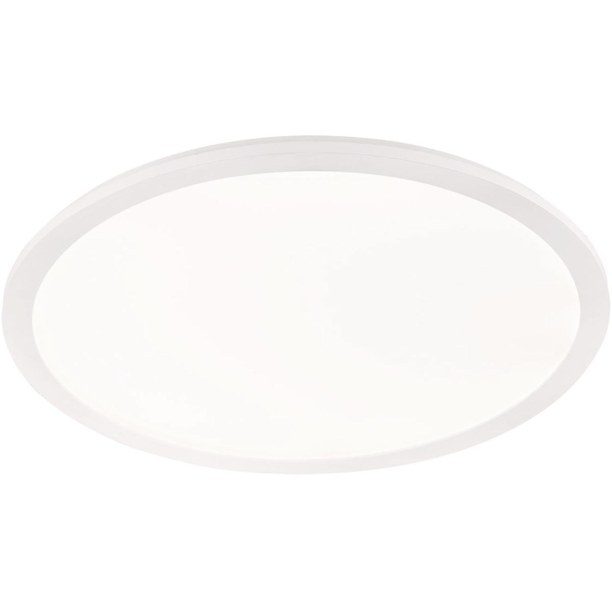 LED Plafondlamp - Trion Camy - Opbouw Rond 30W - Spatwaterdicht IP44 - Dimbaar - Warm Wit 3000K - Ma