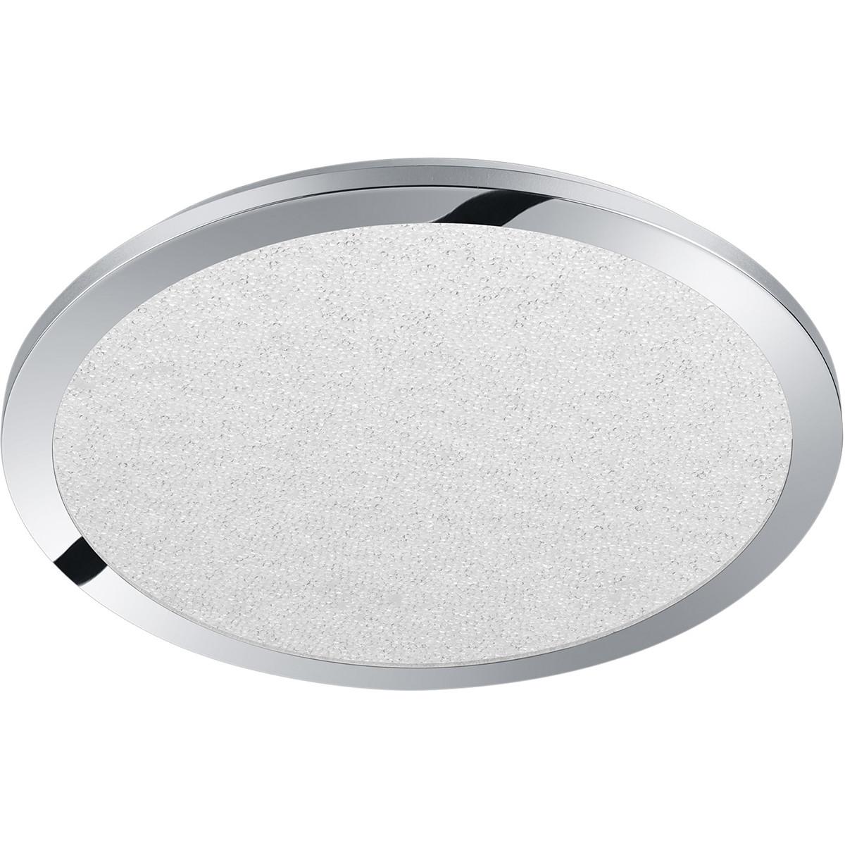 LED Plafondlamp - Trion Ceaniry - Opbouw Rond 24W - Spatwaterdicht IP44 - Dimbaar - Warm Wit 3000K -