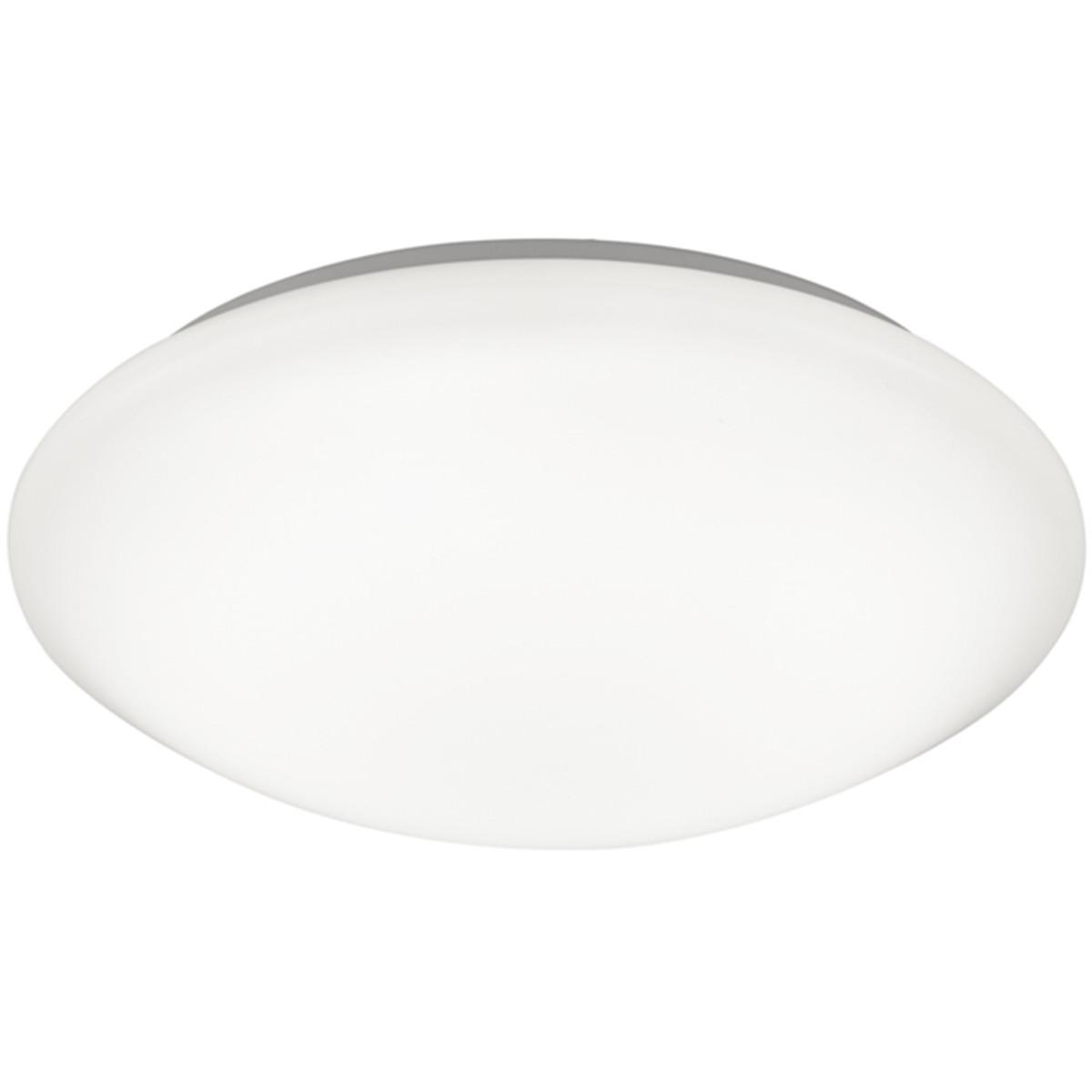 LED Plafondlamp - Trion Conviton - Opbouw Rond 11W - Warm Wit 3000K - Dimbaar - Mat Wit - Acryl