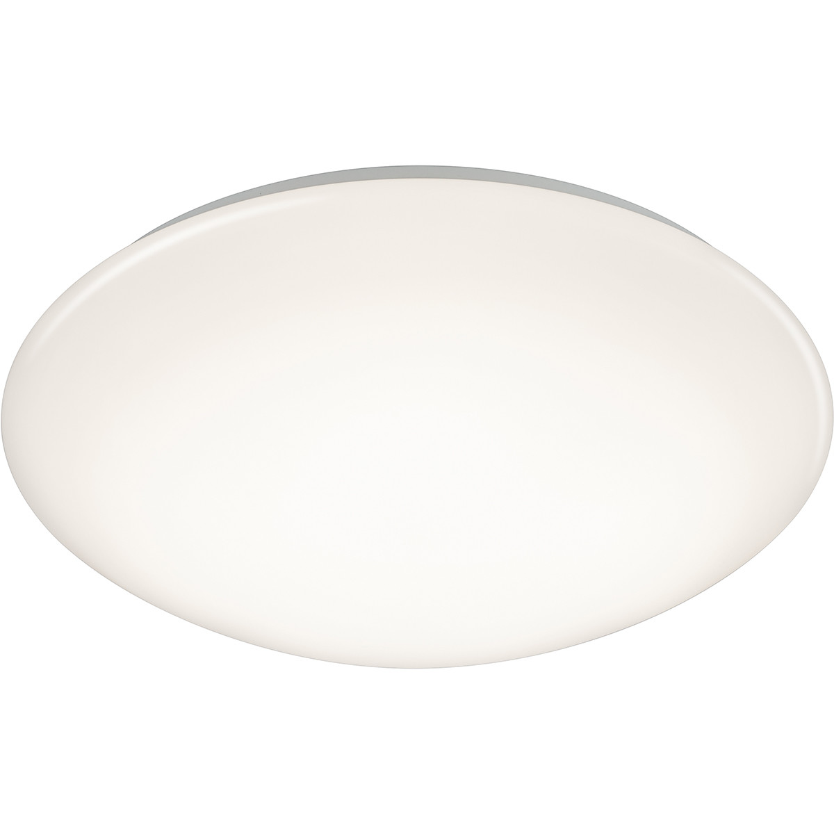 LED Plafondlamp - Trion Luka - 18W - Aanpasbare Kleur - Dimbaar - Afstandsbediening - Rond - Mat Wit