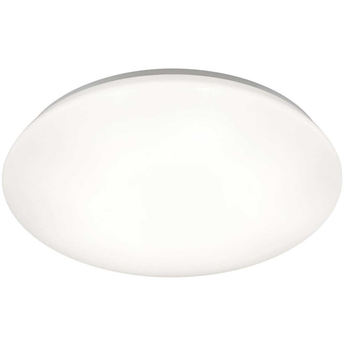 LED Plafondlamp - Trion Potino - 21W - Warm Wit 3000K - Dimbaar - Rond - Mat Wit - Kunststof