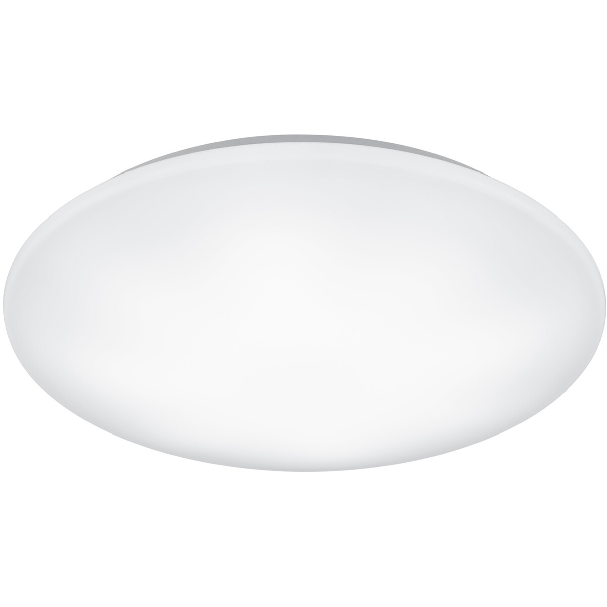LED Plafondlamp - Trion Ster - 27W - Aanpasbare Kleur - Dimbaar - Afstandsbediening - Rond - Mat Wit
