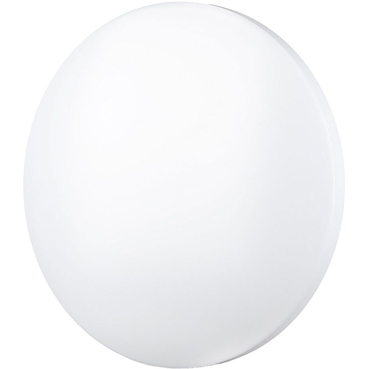 LED Plafondlamp - Viron Hasin - 36W - Inbouw Rond - Aanpasbare Kleur - Mat Wit - Kunststof