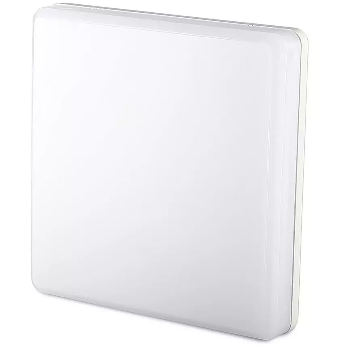 LED Plafondlamp - Viron Hasin - 15W - Inbouw Vierkant - Aanpasbare Kleur - Mat Wit - Kunststof