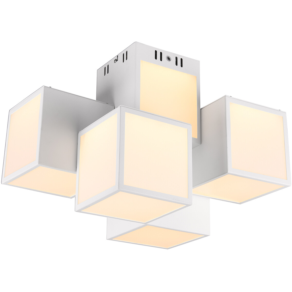 LED Plafondlamp WiZ - Smart LED - Plafondverlichting - Trion Oski - 35W - Aanpasbare Kleur - 5-licht