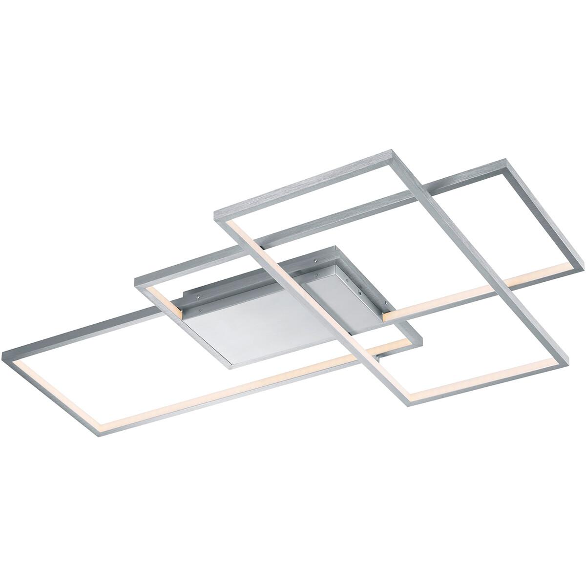 LED Plafondlamp WiZ - Smart LED - Plafondverlichting - Trion Tiagi - 40W - Aanpasbare Kleur - RGBW -