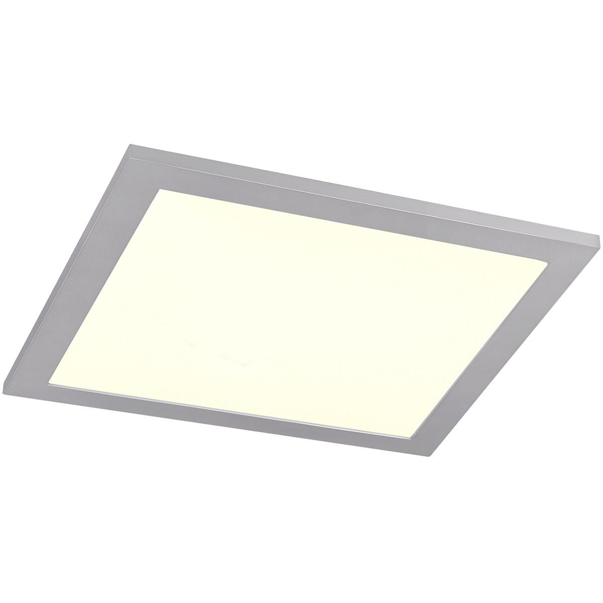LED Plafondlamp WiZ - Smart LED - Trion Alineon - Slimme LED - Dimbaar - Aanpasbare Kleur - 15W - Ma