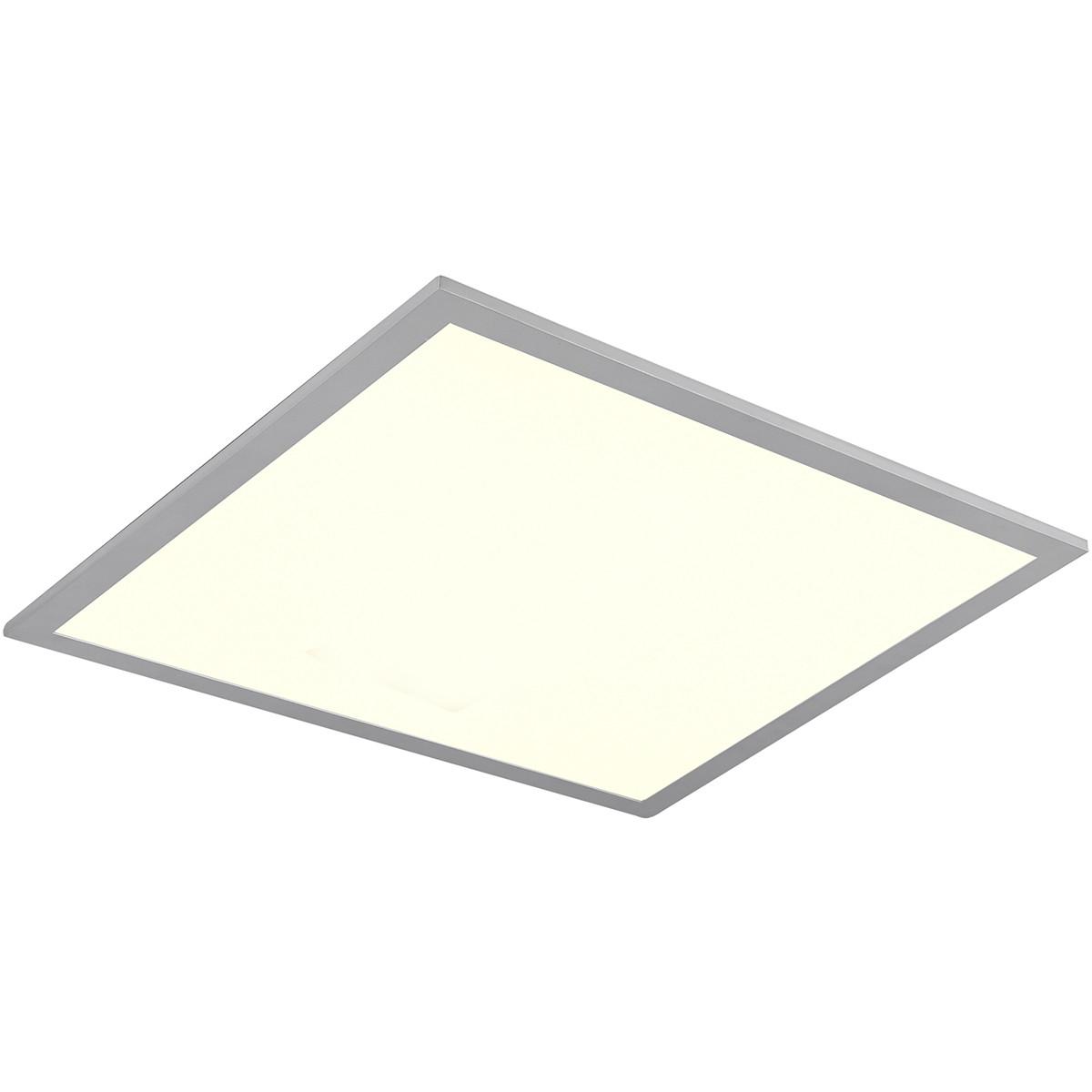 LED Plafondlamp WiZ - Trion Alineon - Slimme LED - Dimbaar - Aanpasbare Kleur - 22W - Mat Titaan - V