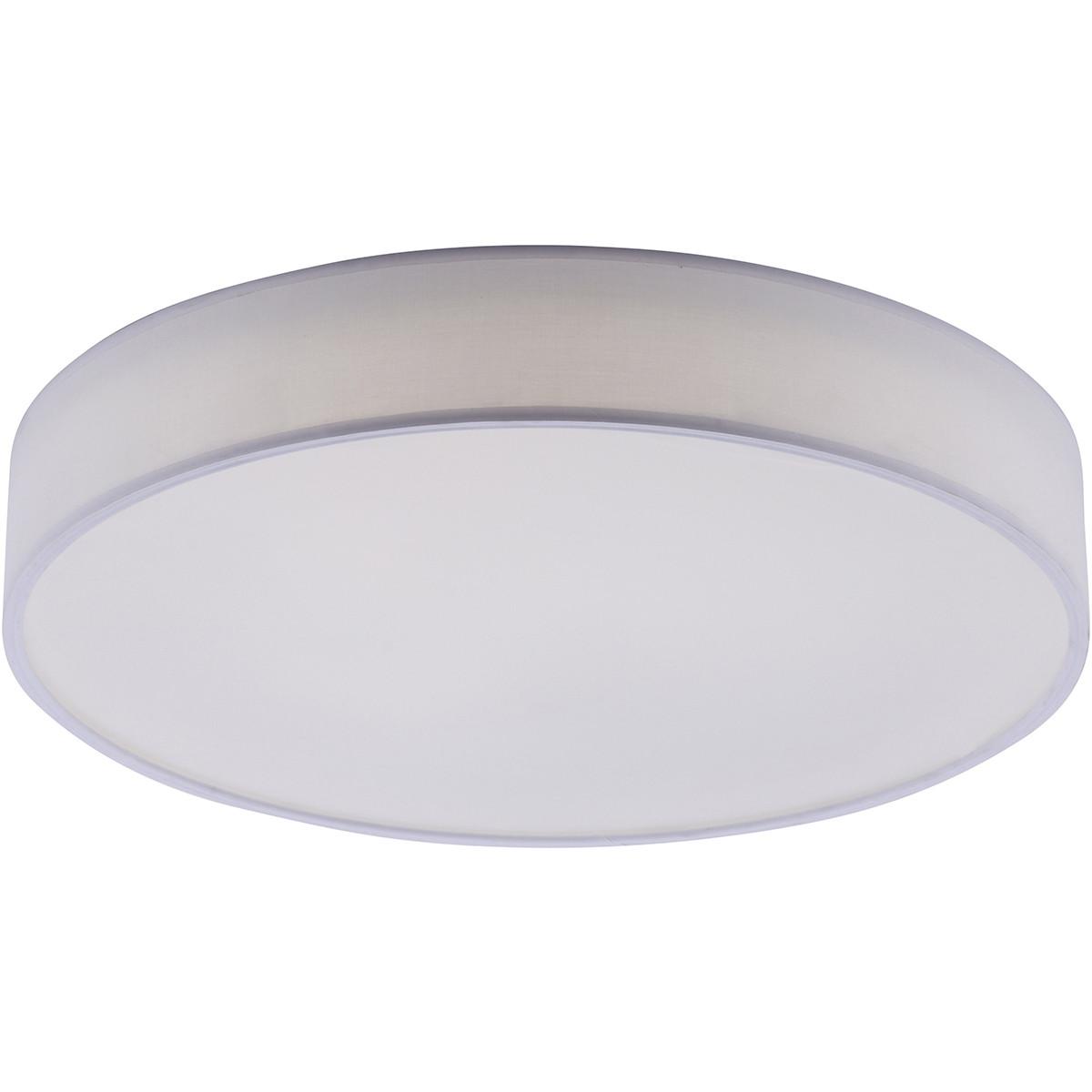LED Plafondlamp WiZ - Smart LED - Trion Ditro - 45W - Aanpasbare Kleur - Dimbaar - Afstandsbediening