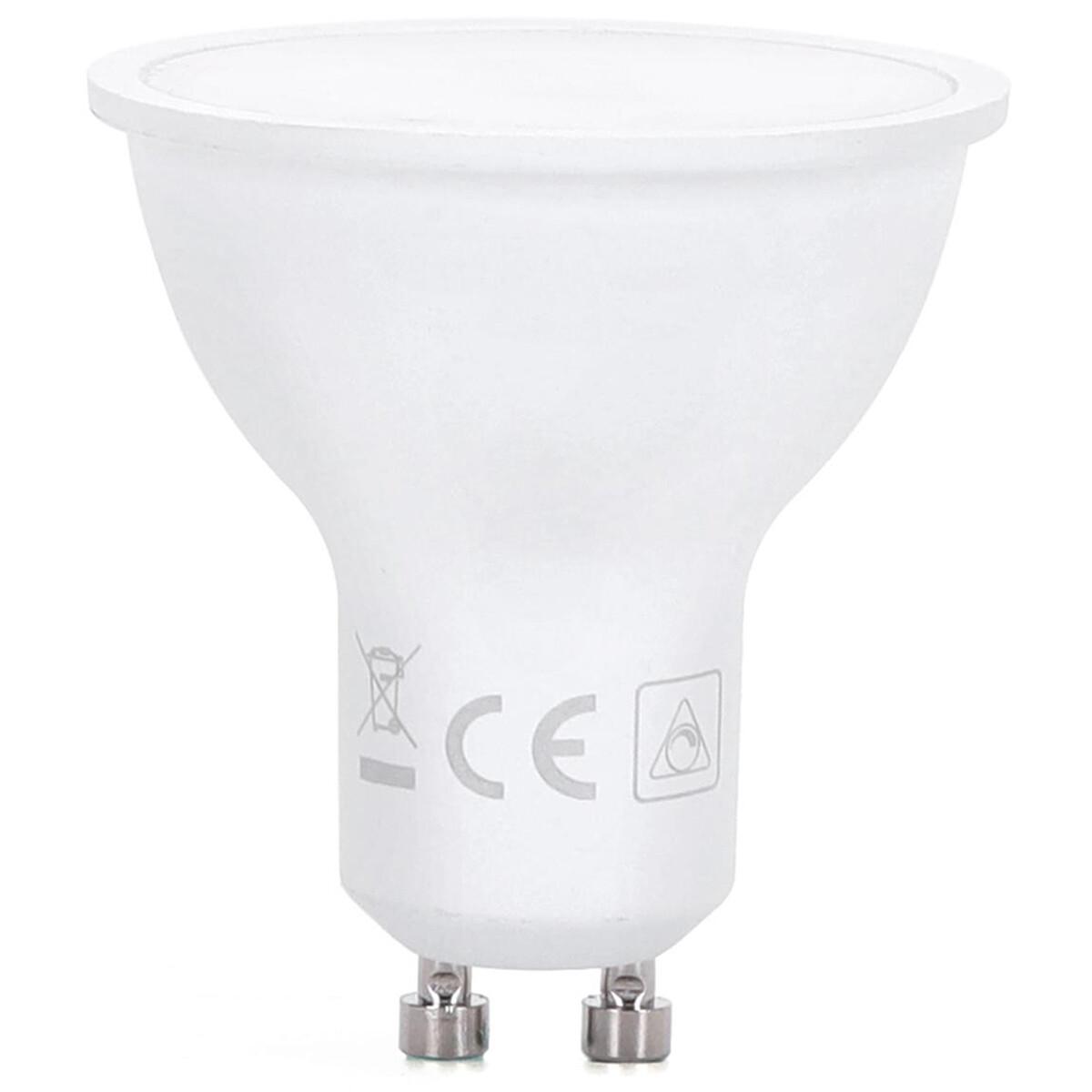 LED Spot - Aigi Wonki - GU10 Fitting - 5W - Aanpasbare Kleur CCT - Timer